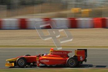 © Octane Photographic Ltd. GP2 Winter testing Barcelona Day 3, Thursday 8th March 2012. Racing Engineering, Fabio Leimer. Digital Ref : 0237lw7d9874