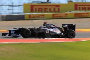 World © Octane Photographic Ltd. F1 USA - Circuit of the Americas - Friday Afternoon Practice - FP2. 16th November 2012. Williams FW34 - Pastor Maldonado. Digital Ref: 0558lw7d3369