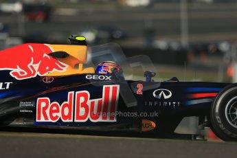 World © Octane Photographic Ltd. F1 USA - Circuit of the Americas - Friday Morning Practice - FP1. 16th November 2012. Red Bull RB8 - Mark Webber. Digital Ref: 0557lw1d0770