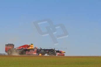 World © Octane Photographic Ltd. F1 USA - Circuit of the Americas - Friday Morning Practice - FP1. 16th November 2012. Red Bull RB8 - Mark Webber. Digital Ref: 0557lw7d3182