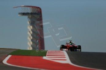 World © Octane Photographic Ltd. Formula 1 USA, Circuit of the Americas - Qualifying. 17th November 2012 Ferrari F2012 - Felipe Massa. Digital Ref: 0560lw1d3264
