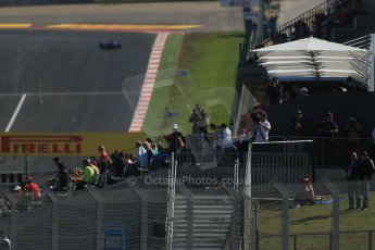World © Octane Photographic Ltd. Formula 1 USA, Circuit of the Americas - Qualifying. 17th November 2012 The crowds fill the grandstands. Digital Ref: 0560lw1d3512