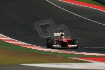 World © Octane Photographic Ltd. Formula 1 USA, Circuit of the Americas - Qualifying. 17th November 2012 Ferrari F2012 - Felipe Massa. Digital Ref: 0560lw1d3573