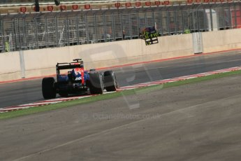World © Octane Photographic Ltd. Formula 1 USA, Circuit of the Americas - Qualifying. 17th November 2012 Red Bull RB8 - Mark Webber. Digital Ref: 0560lw1d3721