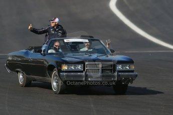 World © Octane Photographic Ltd. Formula 1 USA, Circuit of the Americas - Drivers' Parade - Pastor Maldonado. 18th November 2012 Digital Ref: 0561lw1d4021