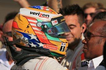 World © Octane Photographic Ltd. Formula 1 USA, Circuit of the Americas - Parc Ferme - Lewis Hamilton, Vodafone McLaren Mercedes. 18th November 2012 Digital Ref: 0561lw1d4586