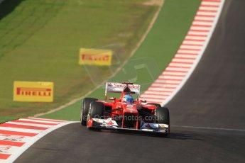 World © Octane Photographic Ltd. Formula 1 USA, Circuit of the Americas - Race 18th November 2012. Ferrari F2012 - Fernando Alonso. Digital Ref: 0561lw7d3865