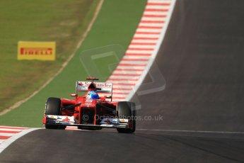 World © Octane Photographic Ltd. Formula 1 USA, Circuit of the Americas - Race 18th November 2012. Ferrari F2012 Fernando Alonso. Digital Ref: 0561lw7d3912