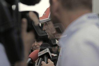 2012 © www.octanephotos.co.uk Circuit of the Americas - Thursday Paddock Interview - Jenson Button - McLaren. 15th November 2012 Digital Ref: 0556lw1d0479