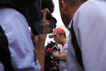 2012 © www.octanephotos.co.uk Circuit of the Americas - Thursday Paddock Interview - Jenson Button - McLaren. 15th November 2012 Digital Ref: 0556lw7d2905