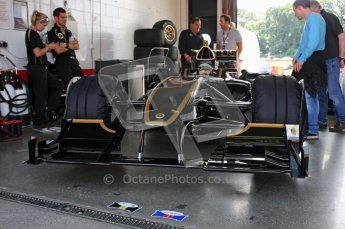 © Carl Jones/Octane Photographic Ltd. 2012. Classic Lotus Festival F1 car demonstation session1  - Brands Hatch, Sunday 19th August 2012. Lotus T125. Digital Ref : 0467CJ7D8301
