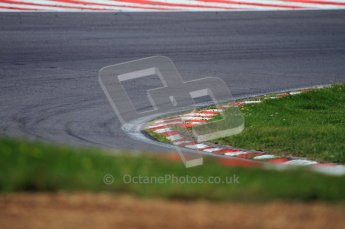 © Carl Jones/Octane Photographic Ltd. 2012. Classic Lotus Festival F1 car demonstation session1  - Brands Hatch, Sunday 19th August 2012. Kerbing. Digital Ref : 0467CJ7D8340