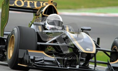 © Carl Jones/Octane Photographic Ltd. 2012. Classic Lotus Festival F1 car demonstation session1  - Brands Hatch, Sunday 19th August 2012. Lotus T125. Digital Ref : 0467CJ7D8393