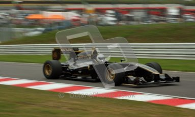 © Carl Jones/Octane Photographic Ltd. 2012. Classic Lotus Festival F1 car demonstation session1  - Brands Hatch, Sunday 19th August 2012. Lotus T125. Digital Ref : 0467CJ7D8405