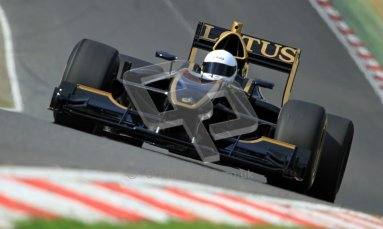 © Carl Jones/Octane Photographic Ltd. 2012. Classic Lotus Festival F1 car demonstation session2  - Brands Hatch, Sunday 19th August 2012. Lotus T125.  Digital Ref : 0467cj7d8546