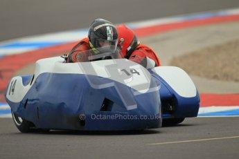 © Octane Photographic Ltd. 2012. NG Road Racing CSC Open F2 Sidecars. Donington Park. Saturday 2nd June 2012. Digital Ref : 0363lw1d9883