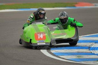 © Octane Photographic Ltd. 2012. NG Road Racing CSC Open F2 Sidecars. Donington Park. Saturday 2nd June 2012. Digital Ref : 0363lw1d9891