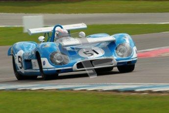 "© Octane Photographic Ltd. 2012 Donington Historic Festival. ""1000km"" for pre-72 sports-racing cars, qualifying. Matra MS650 - Rob Hall. Digital Ref : 0319cb1d8476"