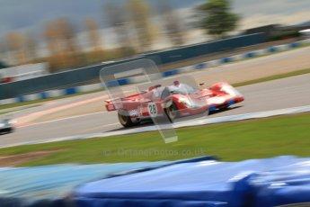 "© Octane Photographic Ltd. 2012 Donington Historic Festival. ""1000km"" for pre-72 sports-racing cars, qualifying. Ferrari 512M - Paul Knapfield. Digital Ref : 0319cb7d0179"