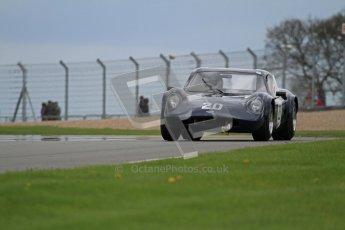 "© Octane Photographic Ltd. 2012 Donington Historic Festival. ""1000km"" for pre-72 sports-racing cars, qualifying. Chevron B8 - Adam Singer/Joe Singer. Digital Ref : 0319lw7d9287"