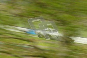 © Octane Photographic Ltd. 2012 Donington Historic Festival. E-type Challenge, qualifying. Jaguar E-type - Joaquin Folch. Digital Ref : 0317cb1d8206