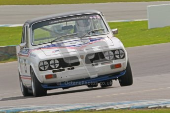 © Octane Photographic Ltd. 2012 Donington Historic Festival. JD Classics Challenge for 66 to 85 touring cars, qualifying. Triumph Dolomite - Anthony Robinson. Digital Ref : 0318cb1d8324