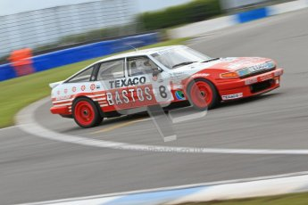 © Octane Photographic Ltd. 2012 Donington Historic Festival. JD Classics Challenge for 66 to 85 touring cars, qualifying. Rover TWR - Bert Smeets. Digital Ref : 0318cb7d0131