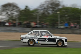 © Octane Photographic Ltd. 2012 Donington Historic Festival. JD Classics Challenge for 66 to 85 touring cars, qualifying. Ford Escort RS1800 - Mark Wright/Dave Coyne. Digital Ref : 0318lw7d8737