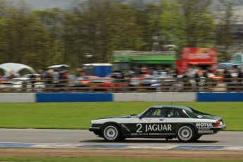 © Octane Photographic Ltd. 2012 Donington Historic Festival. JD Classics Challenge for 66 to 85 touring cars, qualifying. Jaguar TWR XJS - Alex Bunscombe/Gary Pearson. Digital Ref : 0318lw7d8882