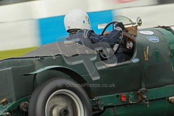 "© Octane Photographic Ltd. 2012 Donington Historic Festival. ""Mad Jack"" for pre-war sportscars, qualifying. Digital Ref : 0314cb1d7530"