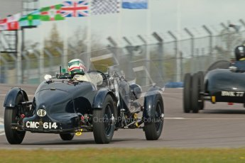 "© Octane Photographic Ltd. 2012 Donington Historic Festival. ""Mad Jack"" for pre-war sportscars, qualifying. Digital Ref : 0314cb1d7544"