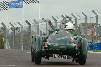 "© Octane Photographic Ltd. 2012 Donington Historic Festival. ""Mad Jack"" for pre-war sportscars, qualifying. Digital Ref : 0314cb1d7558"