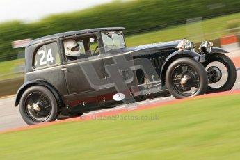 "© Octane Photographic Ltd. 2012 Donington Historic Festival. ""Mad Jack"" for pre-war sportscars, qualifying. Frazer Nash - Patrick Blakeney-Edwards. Digital Ref : 0314cb7d9655"