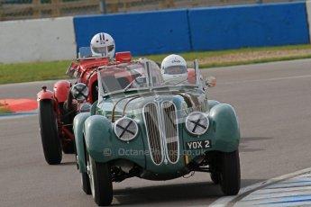"© Octane Photographic Ltd. 2012 Donington Historic Festival. ""Mad Jack"" for pre-war sportscars, qualifying. Digital Ref : 0314lw7d7057"