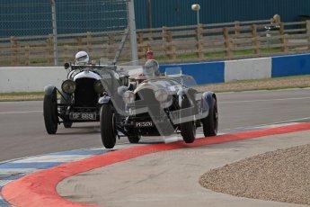 "© Octane Photographic Ltd. 2012 Donington Historic Festival. ""Mad Jack"" for pre-war sportscars, qualifying. Bentley - Richard Hudson. Digital Ref : 0314lw7d7125"