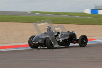 "© Octane Photographic Ltd. 2012 Donington Historic Festival. ""Mad Jack"" for pre-war sportscars, qualifying. 5th May 2012, Jaguar SS100 - Tom McWhirter. Digital Ref : 0314lw7d7491"