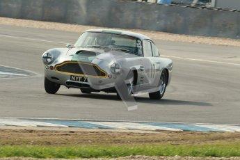 © Octane Photographic Ltd. 2012 Donington Historic Festival. Pre-63 GT, qualifying. Aston Martin DB4 - Nick Naismith. Digital Ref : 0322cb1d9388