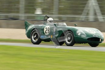 © Octane Photographic Ltd. 2012 Donington Historic Festival. RAC Woodcote Trophy for pre-56 sportscars, qualifying. RGS Atlanta - Barry Wood/Barry Cannell. Digital Ref : 0316cb1d8120