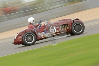 © Octane Photographic Ltd. 2012 Donington Historic Festival. RAC Woodcote Trophy for pre-56 sportscars, qualifying. Cooper Bristol T24/T25 - John ure/Nick Wigley. Digital Ref : 0316cb7d9958