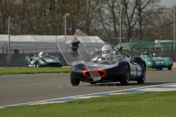 © Octane Photographic Ltd. 2012 Donington Historic Festival. Stirling Moss Trophy for pre-61 sportscars, qualifying. Digital Ref : 0321lw7d9745