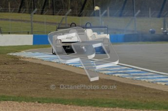© 2012 Octane Photographic Ltd. Donington Park, General Test Day, 15th Feb. Caterham SP300R, Duncan Tappy. Digital Ref : 0223lw1d5211