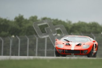 © Octane Photographic Ltd. 2012. Donington Park - General Test Day. Tuesday 12th June 2012. Ford GT40. Digital Ref : 0365lw1d1856