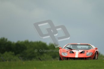 © Octane Photographic Ltd. 2012. Donington Park - General Test Day. Tuesday 12th June 2012. Ford GT40. Digital Ref : 0365lw1d2185