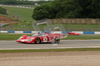 © Octane Photographic Ltd. 2012. Donington Park - General Test Day. Tuesday 12th June 2012. Ex Giunti/Ickx Ferrari 512S. Digital Ref : 0365lw7d8731