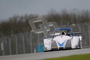 © Octane Photographic Ltd. Donington Park - General Test - 19th April 2012. David Rogers, Radical SR3RS. Digital ref : 0297lw1d0529