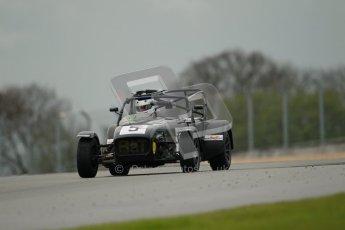 © Octane Photographic Ltd. Donington Park - General Test - 19th April 2012. Geoff Tubb, Caterham 7, Book-a-track. Digital ref : 0297lw1d0575