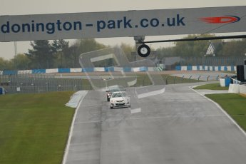 © Octane Photographic Ltd. Donington Park - General Test - 19th April 2012. FIA track inspection. Digital ref : 0297lw1d8393