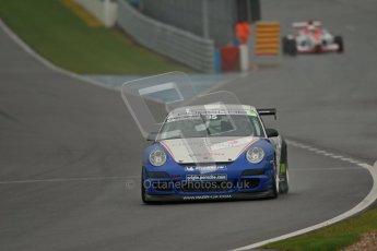 © Octane Photographic Ltd. Donington Park - General Test - 19th April 2012. Peter Smallwood, Porsche GT3 Cup Challenge. Digital ref : 0297lw1d8565
