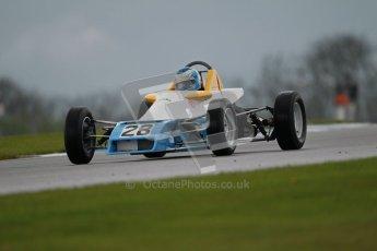 © Octane Photographic Ltd. Donington Park - General Test - 19th April 2012. Alan Fincham, Van Dieman RF80 HSCC Historic Formula Ford 1600. Digital ref : 0297lw1d9983