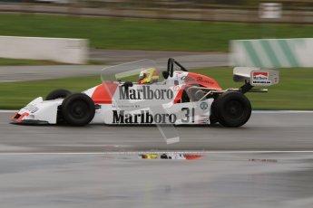 © Octane Photographic Ltd. Donington Park - General Test - 19th April 2012. Nathan Kinch, Martini Mk34 Alfa Romeo, Grand Prix de Monaco Historique 2012. Digital ref : 0297lw7d5169